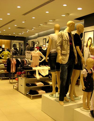 Giyim Mağazası Tasarım Örnekleri