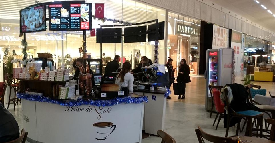 Kiosk CAFE Dekorasyonu