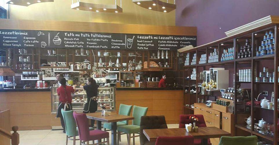 Kocatepe Kahve Evi Cafe Dekorasyonu